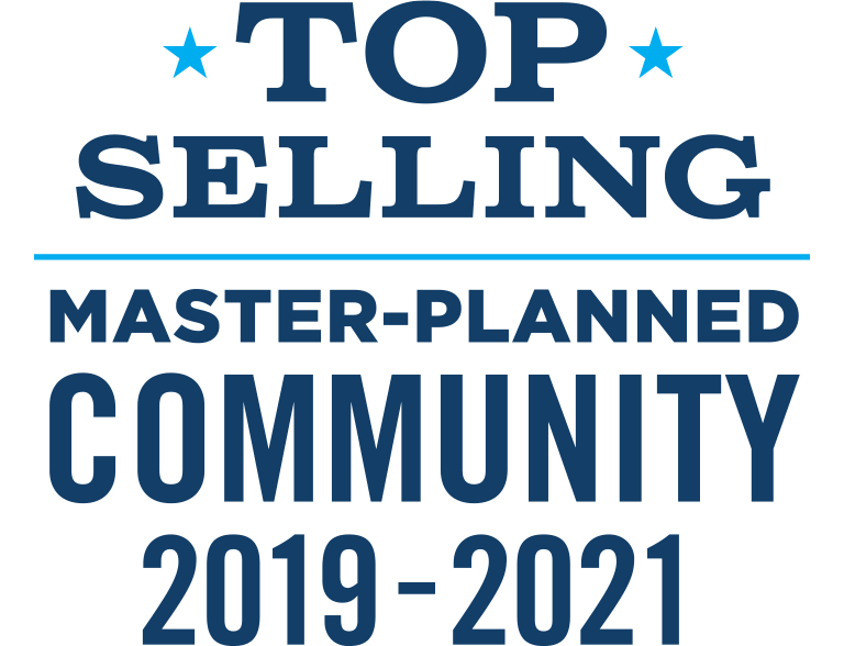 Top Selling Master-Planned Community 2019 - 2021